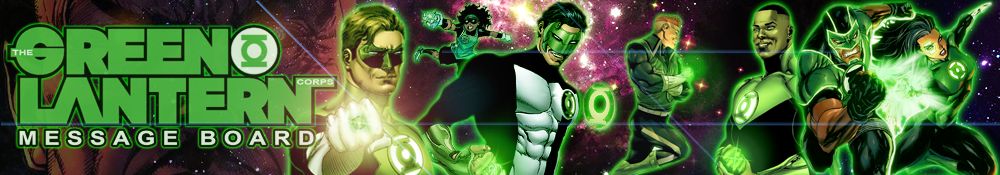 The Green Lantern Corps Message Board