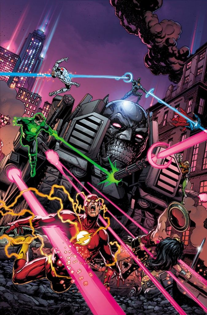 BATMAN: THE MURDER MACHINE #1 cover by Jason Fabok and Brad Anderson