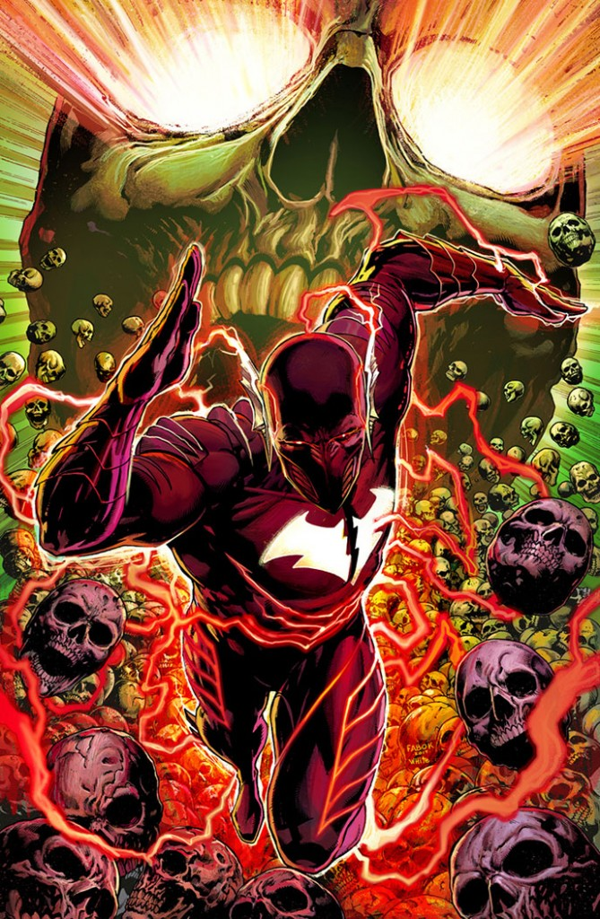 BATMAN: THE RED DEATH #1 cover by Jason Fabok and Dean White.