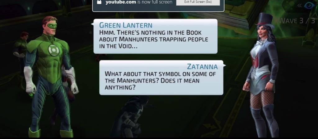 Green Lantern Hal Jordan and Zatanna