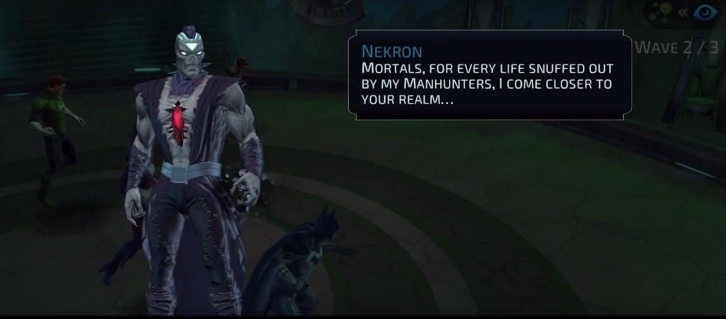 Nekron in DC Legends