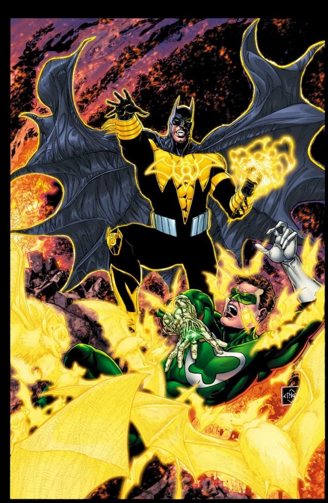 Forever Evil #4 Variant Cover by Ethan Van Sciver