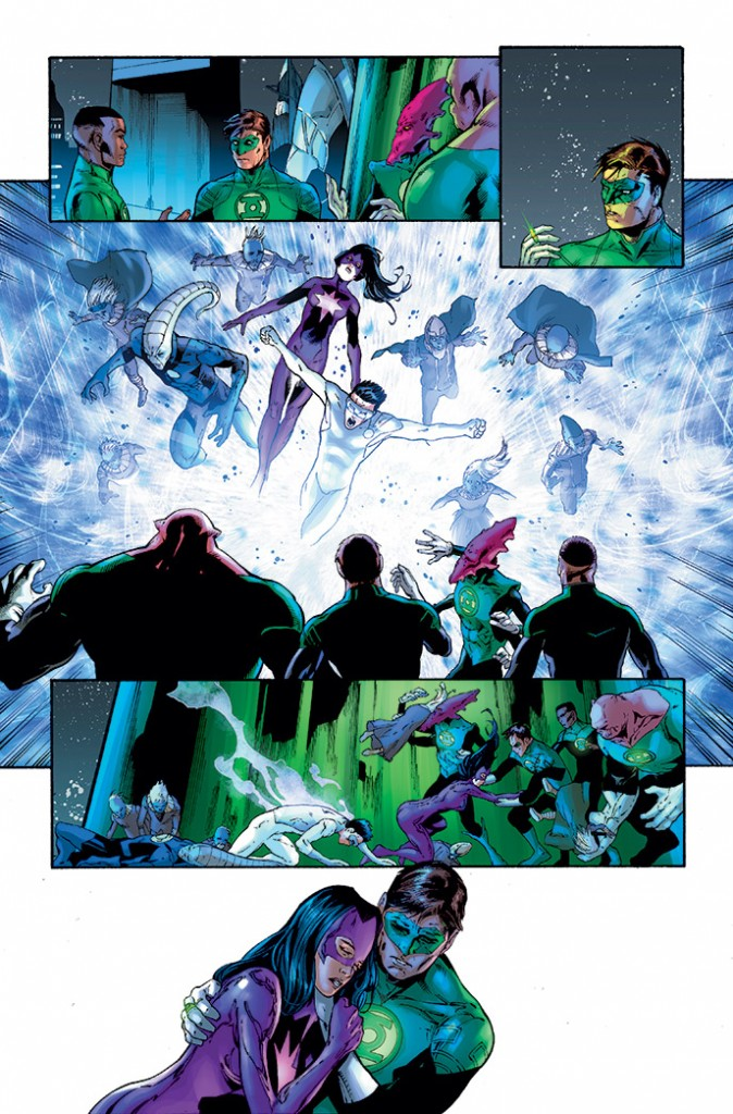 Green Lantern #24 Interior Art