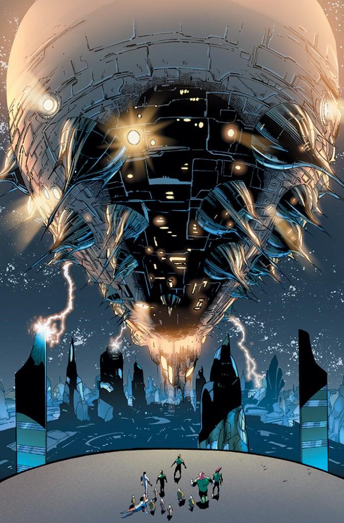 Green Lantern #24 Interior Art by Billy Tan