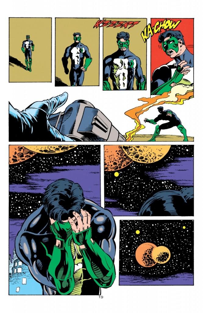 Green Lantern 1990 Suicide