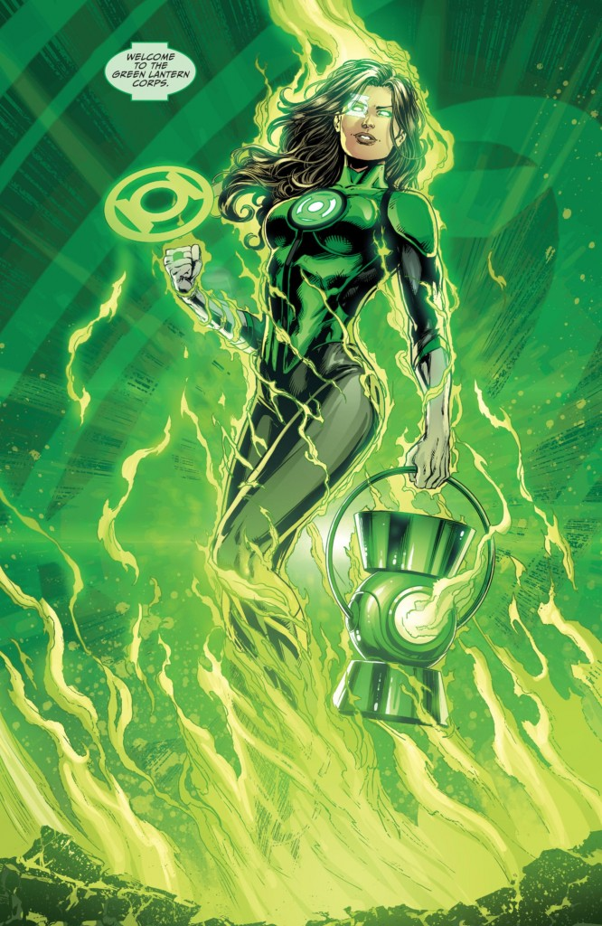 The Lantern Moment of the Month via Justice League #50 w/ art by Jason Fabok